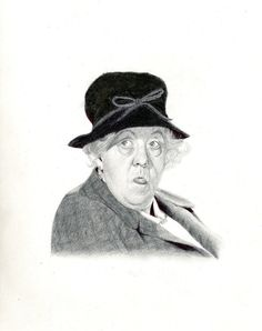 Miss Marple by LaChauveSourisDoree