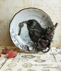 Crow old along with me by Riikka Kovasin for Craft Stamper