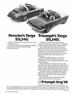 Triumph Stag - Australia
