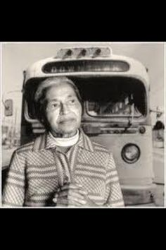 ROSA PARKS DAY is Dec 1st. In 1955 on this date she refused to give up her seat on the bus.