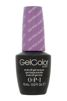 gelcolor soak-off gel lacquer # gc b29 - do you lilac it? by opi