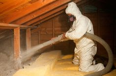 Wet Spray Insulation - Reduces building heat loss and gain, and reduces noise transmission. Contact Us Today for a FREE Estimate.