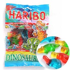 Haribo Dinosaur gummi candy