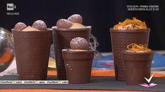 """""""Detto Fatto"""": la ricetta dei bicchierini di cioccolato di Mirco Della Vecchia del 14 aprile 2017."""