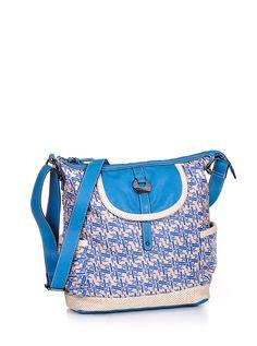 bruno banani Beach shoulder bag tall - color: blue
