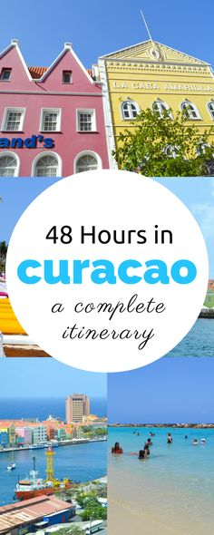 48 Hours in Curacao: What to See, Do, and Eat >> a beautiful place to go in the Caribbean! Saving this for later when I want to book a trip to the beach! :)