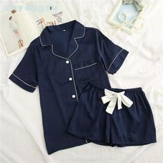 b8c1f555da Women's Cute Shirt and Shorts Pajama Set Price: $ 33.90 & FREE Shipping  #