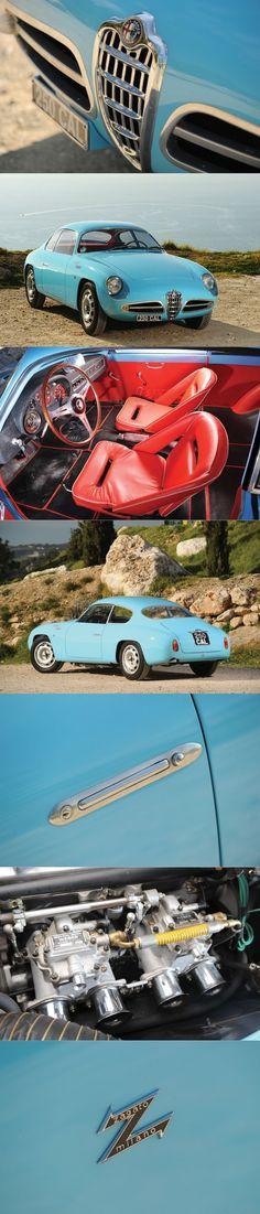 Alfa Romeo Giulietta Sprint Veloce - 1958