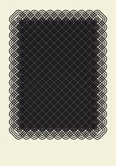 1 of 101 patterns by Nicolaz Groll (via but does it float http://butdoesitfloat.com/1176324/How-shall-I-a-habit-break)