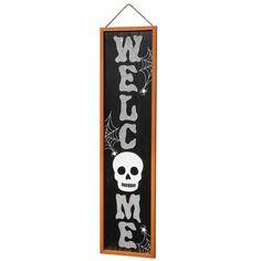 Halloween Wall Decor, Halloween Porch, Halloween Signs, Halloween Skull, Halloween Decorations, Halloween Crafts, Halloween Ideas, Rustic Halloween, Halloween Skeletons