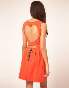 ShopStyle: Club L Dress With Sweetheart Back