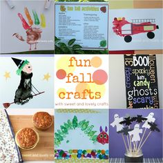 sweet and lovely crafts: Fun Fall Crafts