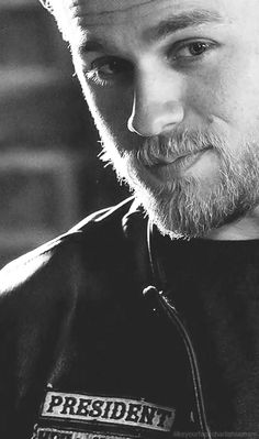Charlie Hunnam as Jax Teller #SOA - hero inspiration Dean