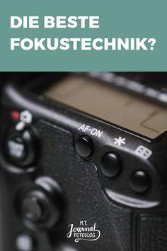 Erfahre, wie du mit der Back Button Focus Technik schneller und einfacher fokussierst