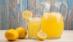 Lemonade with Thermomix Summer Drink Recipes, Best Smoothie Recipes, Good Smoothies, Summer Drinks, Cold Drinks, Essen To Go, Jus Detox, Diet, Smoothie
