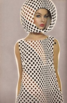 Harper's Bazaar April 1965, Jean Shrimpton wearing Courreges, photographer Richard Avedon