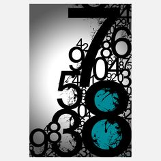 Shop for Maxwell Dickson 'Countdown' Modern Canvas Wall Art. Get free delivery On EVERYTHING* Overstock - Your Online Art Gallery Store! Contemporary Frames, Modern Wall Art, Metal Wall Art, Canvas Wall Art, Canvas Prints, Cool Typography, Typography Design, Lettering, Wood Images