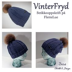 Ravelry: VinterFryd Flettelue pattern by StrikkeBea