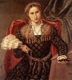 Laura da Pola by Lorenzo Lotto, 1544. (Pinacoteca di Brera, Milan)