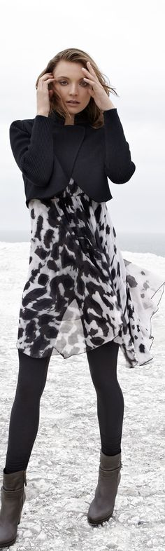 Animal prints for women over 40 & 50 - Read THIS and other articles for BABY BOOMER WOMEN at: http://boomerinas.com/2012/10/animal-prints-for-women-over-40-50-60/