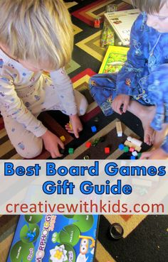 Board games for kids that are fun for the whole family to play together! These board games for toddlers to big kids are sorted by age and are fun for all. Board Games For Kids, Games For Toddlers, Craft Activities For Kids, Kids Board, Family Game Night, Family Games, Happy Mom, Happy Kids, Best Games