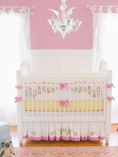 Baby Girl Nurseries - Nursery Ideas - Slideshow serenaandlily.com