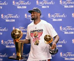 LeBron James 2012 NBA Finals Champion and MVP. I couldn't be prouder of you.