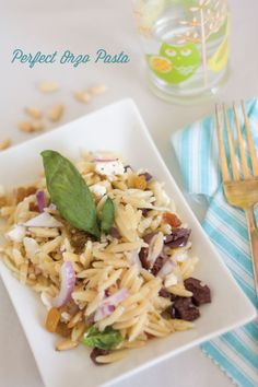 perfect orzo pasta by the alison show
