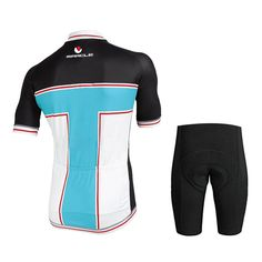2016 Outdoor Sports Men's Short Sleeve Cycling Jersey ** Visit the image link more details.