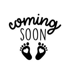 Silhouette Design Store: Coming Soon Baby Feet - Silhouette Design Store – Search Designs : BABY - Pregnancy Art, Pregnancy Quotes, Baby Quotes, Pregnancy Pillow, Pregnancy Drawing, Pregnancy Classes, Pregnancy Belly, Early Pregnancy, Silhouette Design