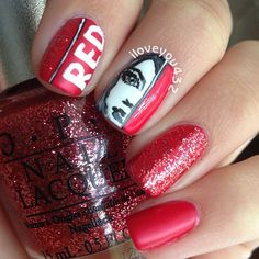 taylor swift by iloveyou432 #nail #nails #nailart