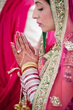 Indian brides are always so beautiful!!!!