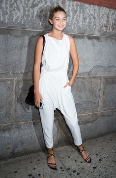 Outside Lincoln Center during New York Fashion Week   - MarieClaire.com