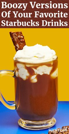 te, specialty tea or seasonal hot chocolate, you can whip up a superior specialty beverage at home, except your version will have booze in it. Here, the best hot cocktails inspired by Starbucks drinks.