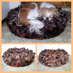 Marshmallow Pet Bed ultra soft fleece. by BedsByCindyAndMore, $44.00