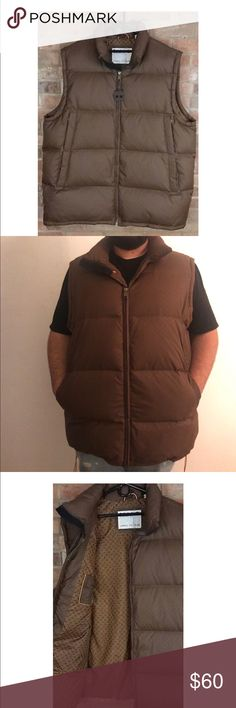 Men's TIMBERLAND Brown Duck Down Puffer Vest Brand new without tags. No rips or stains. Hubby used once. Any offers use offer button thank you and happy poshing ❤️😘 Timberland Jackets & Coats Puffers