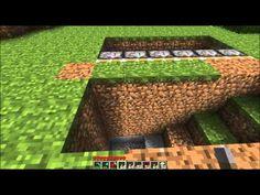 [Minecraft] Tutorial - How to Build a Sliding Underground Base