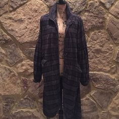 TEMP REDUCEDFree People Victorian plaid jacket Free People Victorian plaid jacket, size M- navy and gray plaid- like new- only worn a couple of times. Free People Jackets & Coats