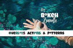 Big Bokeh Bundle for Photoshop by nerdygirlcreative on @creativemarket