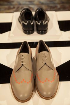 Pollini Spring/Summer 2014 mens lace-ups