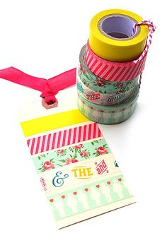 Each Order will come with One Christmas Washi tape FREE!(New Christmas Designs, chosen at Random).Washi tape is a super fun adhesive tape that you can easily tear by hand!! It is  perfect for gift wrapping, card-making, scrap-booking, packaging and just  anything you want to add a pop of   color to!! We have picked the most popular colors, and we are offering  a huge   Special price on these!! {This Listing   includes:} 1- (of 204 colors)   - Washi TapeWidth: 15...