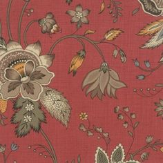 Le Marais French Rouge 13547 21 by French General for Moda