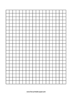 This centimeter graph paper is mostly used by students to solve math and geometry problems. Printable Graph Paper, Free Printables, Geometry Problems, Math Problems, Paper Daisy, Learn To Draw, Paper Size, Lettering