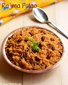 Rajma pulao recipe - with Full video, step by step