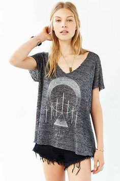 Project Social T Mystic Seven Tee - Urban Outfitters