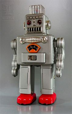Yonezawa SMOKING SPACEMAN tin robot reproduction | Flickr - Photo Sharing!