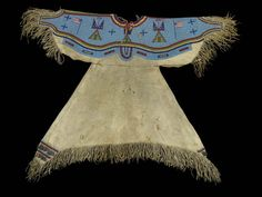Sioux dress. British Mus.  ac