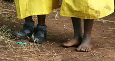 Tue 16th Apr, 2013~ One Day Without Shoes Day