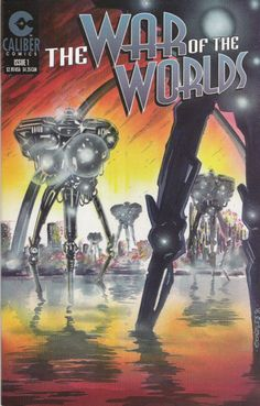 The War of the Worlds (Caliber, 1996-97), issue 1 cover.
