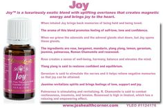 Young Living Joy Essential Oil. Young living member# 1560085